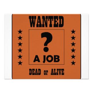 Önskat… ett jobb tillkännagivande