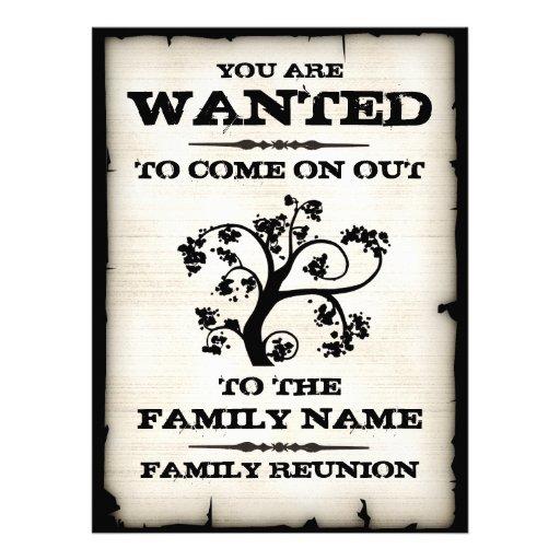 Önskat familjmöte inbjudningar