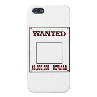 Önskat rött de MUSEUMZazzle gåvorna iPhone 5 Cover