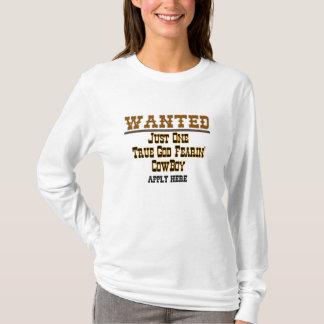 ÖNSKAT: Skräddarsy COWBOY - T-shirts