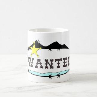 Önskat Westernt Kaffemugg