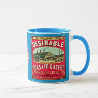 Önskvärd fransk marknadsför grillat kaffe mugg