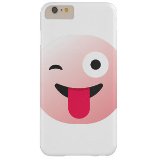 ont blinka för emoticon täcker barely there iPhone 6 plus skal