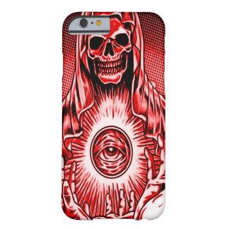 Ont rött öga för Skully skalle Barely There iPhone 6 Fodral