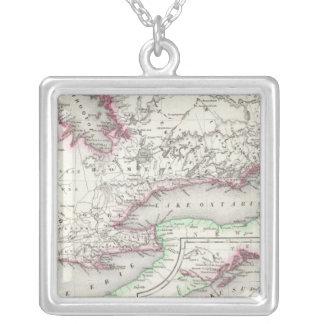 Ontario Kanada Silverpläterat Halsband