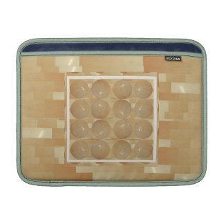 ONYXmarmorbollar - guld- vetejuvlar MacBook Air Sleeve