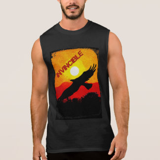Oövervinnligt - örn sleeveless t-shirt