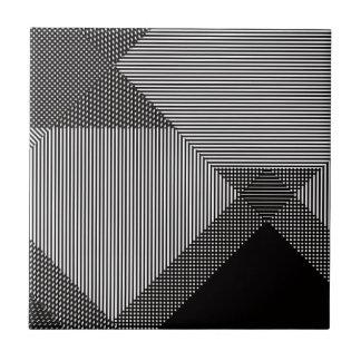 Op konst för Crosshatch Kakelplatta