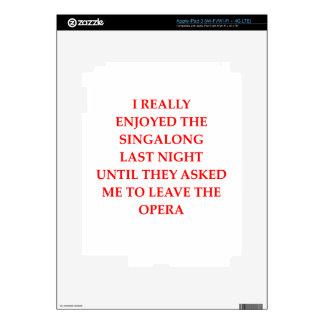 OPERA iPad 3 SKIN