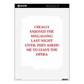 OPERA SKIN FÖR iPad 2