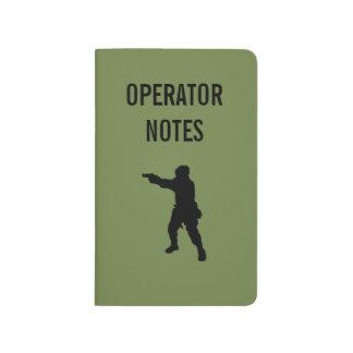OPERATÖREN NOTERAR - kommandot Journaler