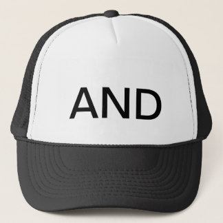 """Öppenhjärtig """"OCH"""" hatt Truckerkeps"""