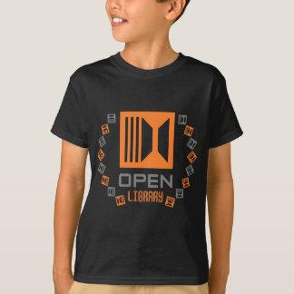 öppna bibliotek t shirts