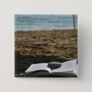 Öppna boken med en rulle standard kanpp fyrkantig 5.1 cm