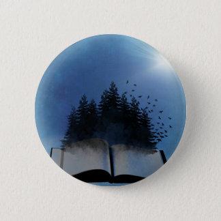 Öppna bokskogen standard knapp rund 5.7 cm