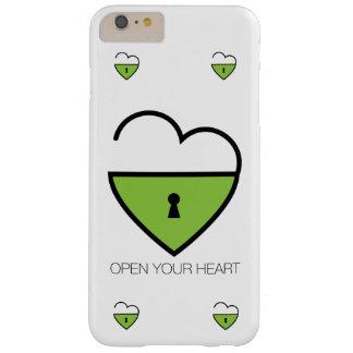 Öppna din hjärta barely there iPhone 6 plus skal
