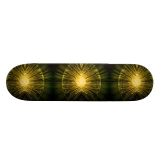 Optisk abstract. för fiber old school skateboard bräda 18 cm