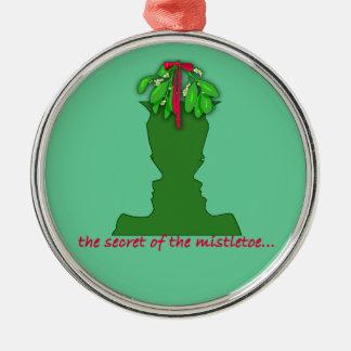 Optisk illusion för Mistletoe Julgransprydnad Metall