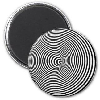 Optisk illusion magnet
