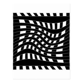 Optisk illusion vykort