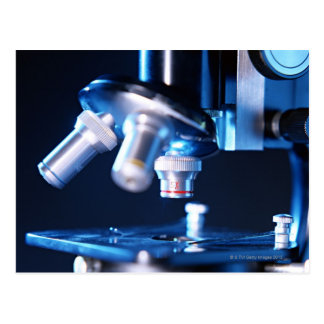 Optiskt mikroskop 3 vykort