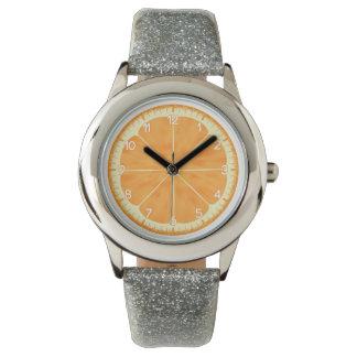 Orange Armbandsur