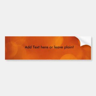 Orange bakgrundsbildekal bildekal