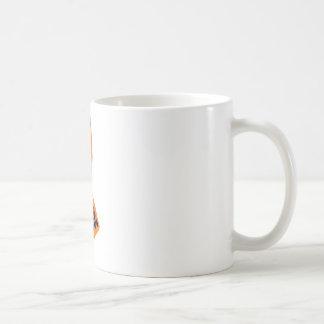 Orange bandmedvetenhet kaffemugg