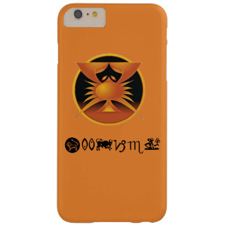 Orange cancer, iPhone-/iPadfodral Barely There iPhone 6 Plus Fodral