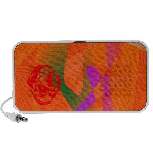 Orange dagsljus iPhone speakers