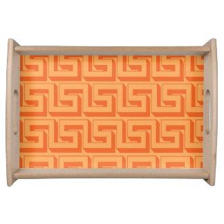 Orange designmagasin frukostbricka