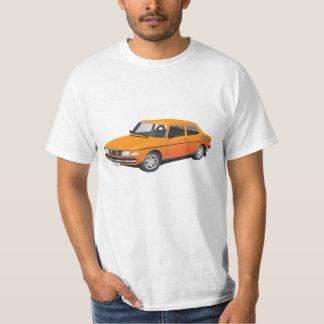 Orange för SAAB 99 Tshirts