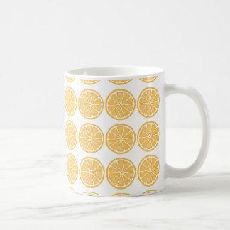 Orange frimärkedesignmugg kaffemugg