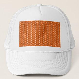 Orange glitter för hatt keps