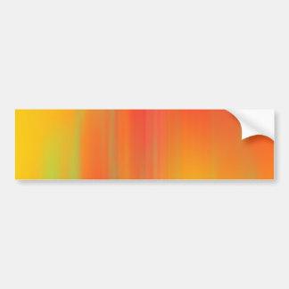 Orange- & gultrörelseBlur: Bildekal
