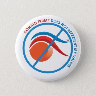 orange huvud standard knapp rund 5.7 cm