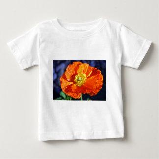 Orange isländsk vallmo tee shirt