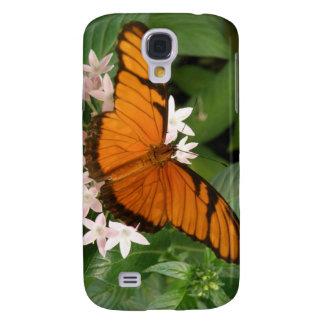 Orange Julia fjäril mig Galaxy S4 Fodral