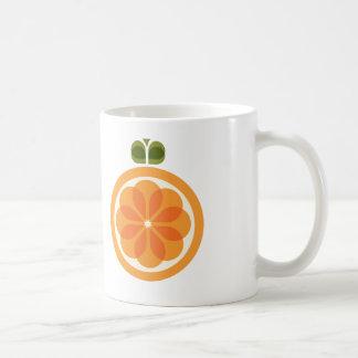 Orange kaffekopp