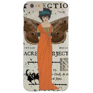 Orange klänning för Femme Fatale påskyndad kvinna Barely There iPhone 6 Plus Fodral