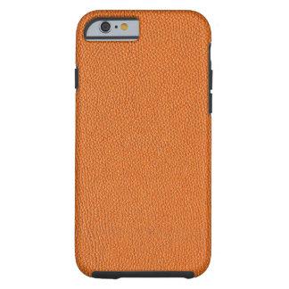Orange läderLook
