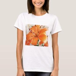 Orange liljar: Blommor: T-shirt