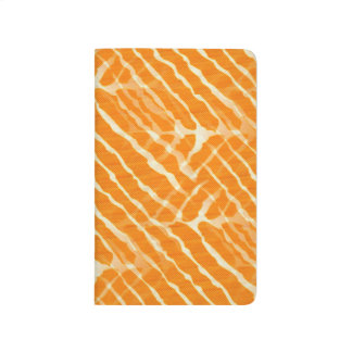 Orange Look för tigerrandkanfas Anteckningsböcker