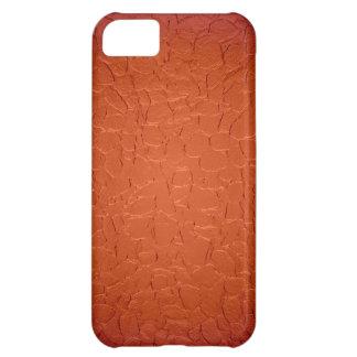 Orange metallisk strukturbakgrund iPhone 5C fodral