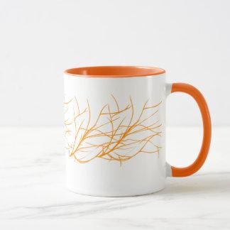 orange mugg