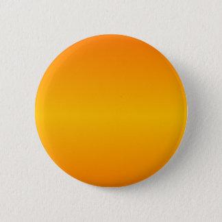 Orange och bärnstensfärgad lutning för standard knapp rund 5.7 cm