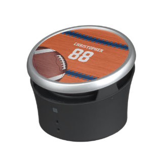 Orange- och blåttrandJersey fotboll Bluetooth Högtalare