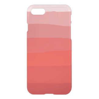 Orange Ombre klar iphone case iPhone 7 Skal