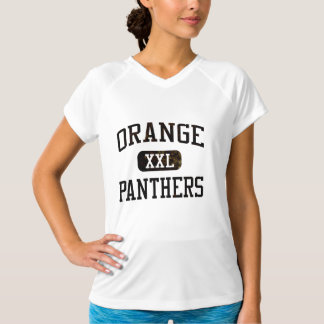 Orange panterfriidrott t shirt