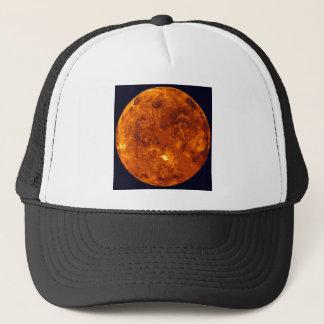 Orange planet truckerkeps